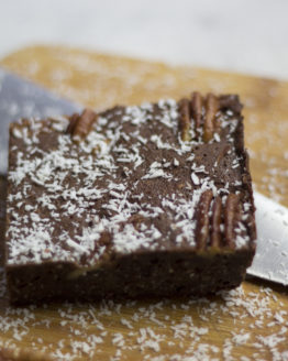 brownie kokos pecan